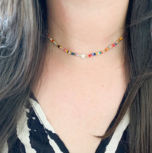 Load image into Gallery viewer, Colorful Star Choker