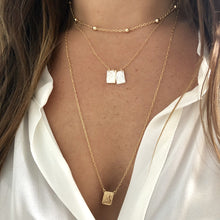 Load image into Gallery viewer, Gold Scapular Necklace