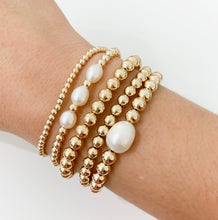 Load image into Gallery viewer, Pearl Bracelet - 6mm