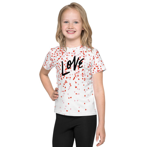 Raining Love Kids T-Shirt