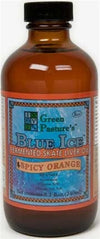 GREEN PASTURE BLUE ICE FERMENTED SKATE LIVER OIL, SPICY ORANGE LIQUID