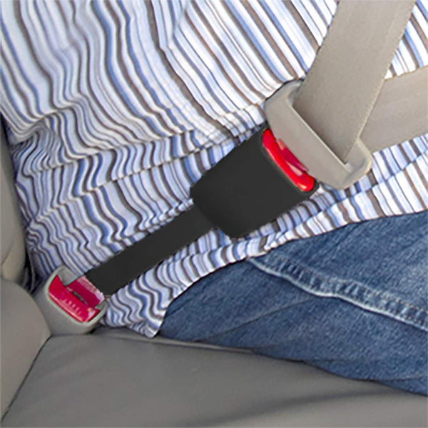 Drive Safely and Buckle Again Seat Belt Extender Pros E-4 Safety Certified Rigid 5 Inch Seat Belt Extender 7//8 Inch Metal Tongue is Type A Black, 1-Pack