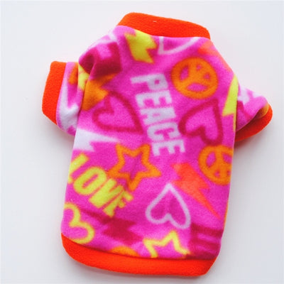 Warm Fleece Pet Dog Clothes - Altus Pet
