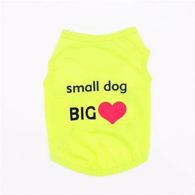 Printed Pets Tshirt Clothes - Altus Pet