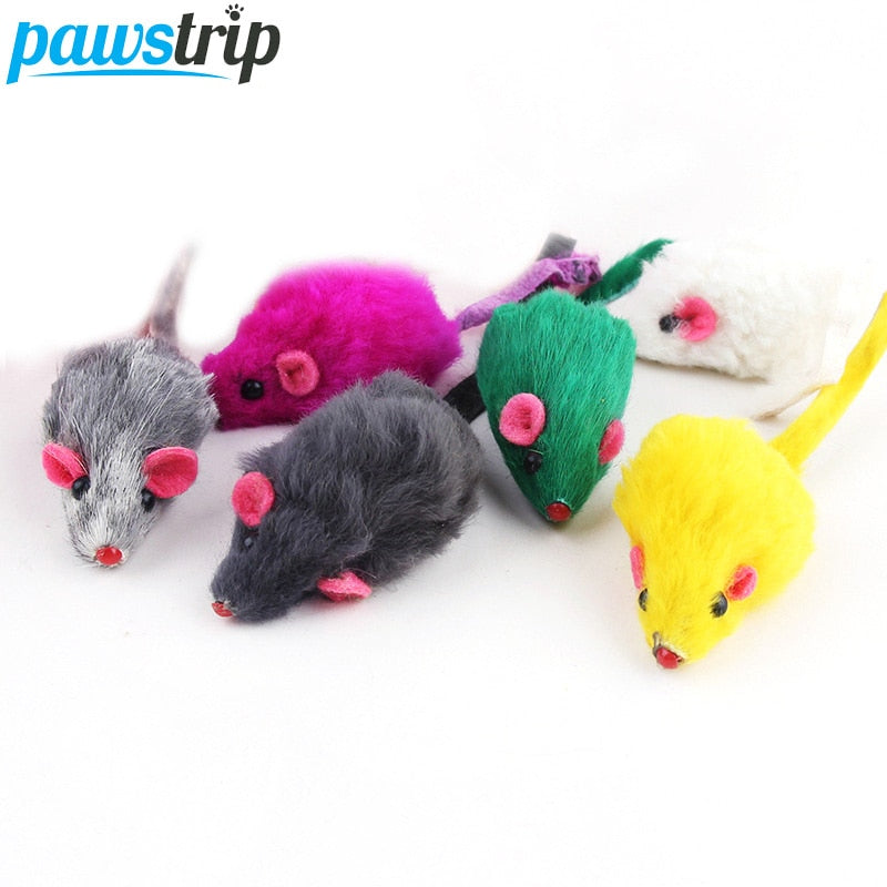 Rabbit Fur or False Mouse Cat Toy - Altus Pet