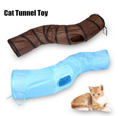 Collapsible Cat Tunnel Tube - Altus Pet