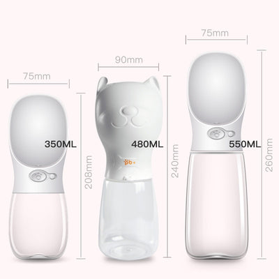 Portable Pet Water Bottle - Altus Pet