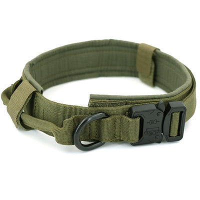 Military Tactical Adjustable Dog Collar - Altus Pet