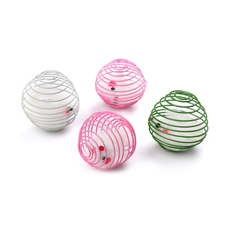 Pet Rainbow Ball Spring  Cage - Altus Pet