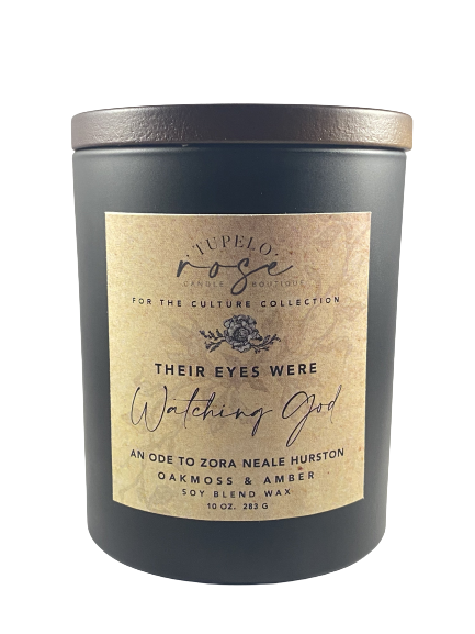 Their Eyes Were Watching God Candle- 10 oz