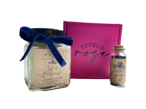 Mini Gift Box with our Luxe Square Candle