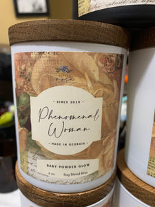 Phenomenal Woman Candle