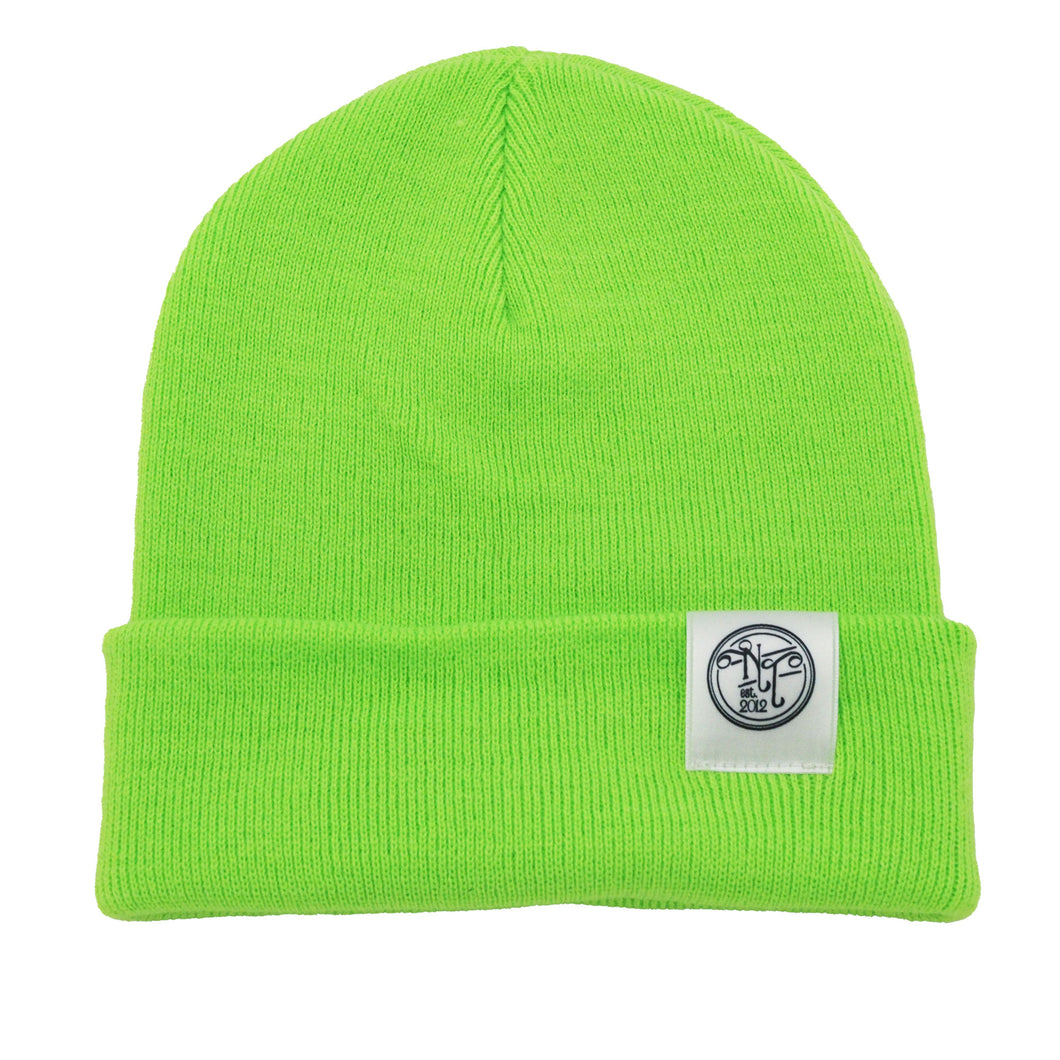 Needful Beanie – Neon Green