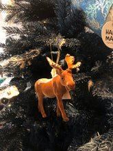 Load image into Gallery viewer, Moose hanging decoration