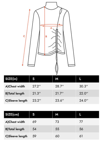 Luxe-Brushed-Snake-Rib-Cinched-Cutout-Turtleneck-size-chart