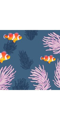 Luncheon Napkin - Clown Fishes