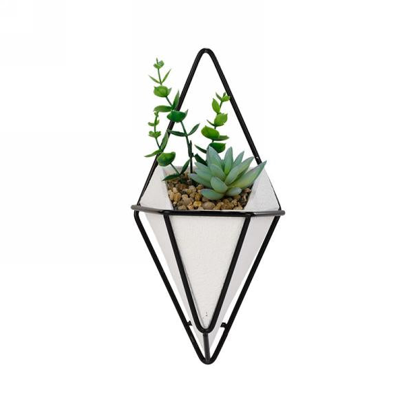 Art Deco Wall Plant - Small