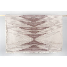 Load image into Gallery viewer, Turkish Fleece Lined Throw - Sound Waves