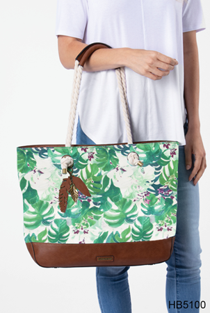 Palau Canvas Beach Tote