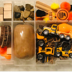 CONSTRUCTION PLAYDOUGH SENSORY KITS