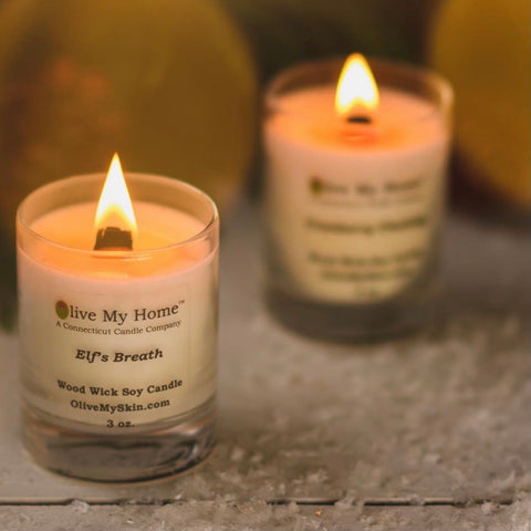 MINI  WOOD WICK SOY CANDLE