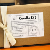 CANDLE MAKING KIT | SCENT OPTIONS
