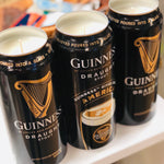 GUINNESS VANILLA SCENTED CANDLE