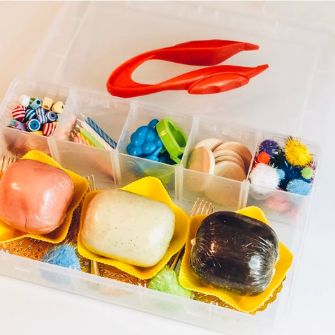 BAKERY PLAYDOUGH SENSORY KIT