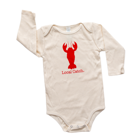 LOCAL CATCH LONG SLEEVE ONESIE