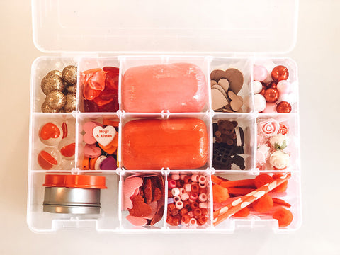BE MY VALENTINE PLAYDOUGH SENSORY KIT