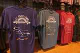 Menominee River Map Tee Shirt