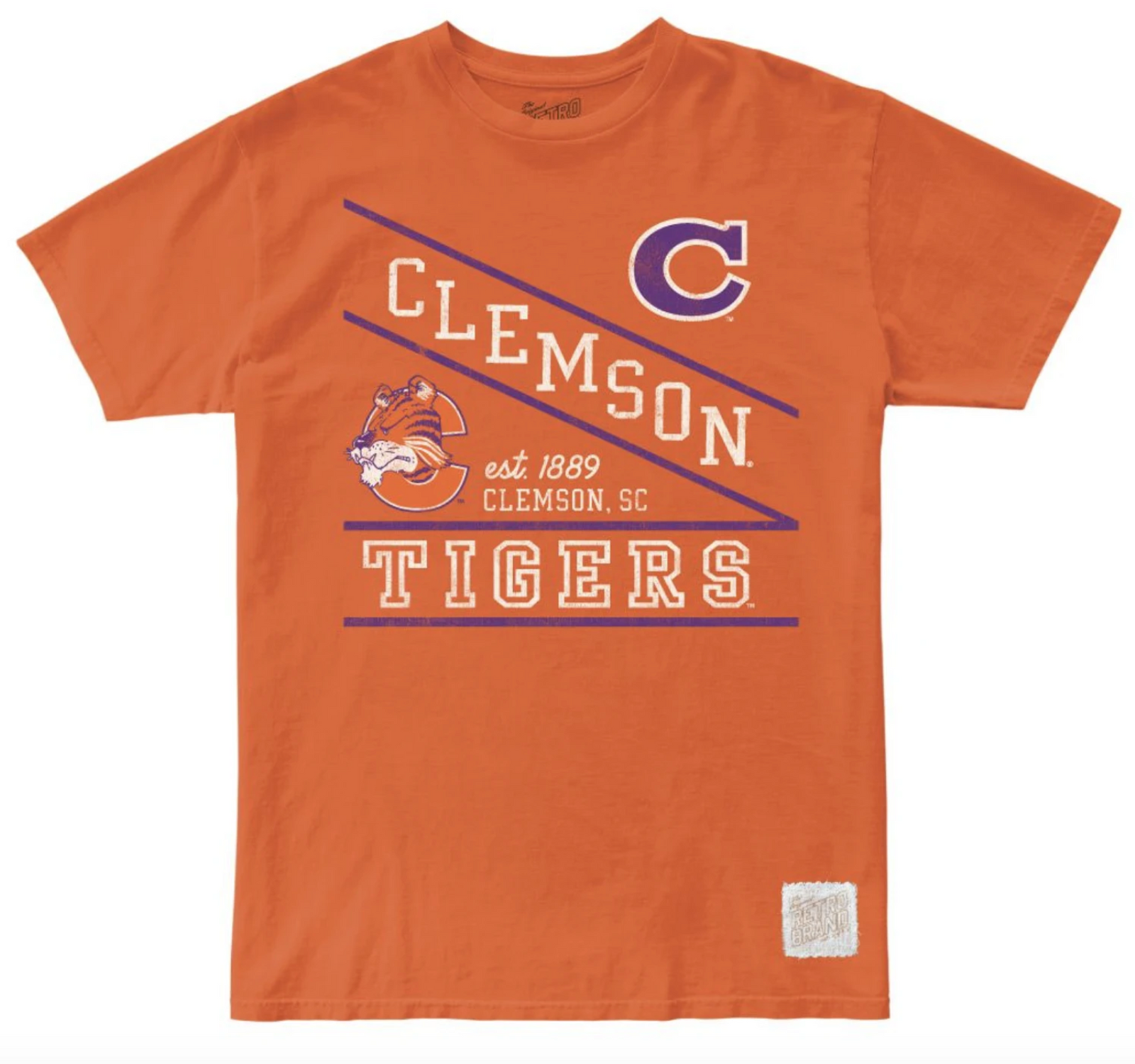 Clemson Tigers 100% Cotton Unisex Tee