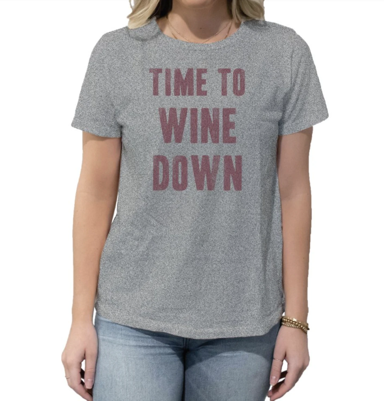 Time To Wine Down Women's Crew Tee