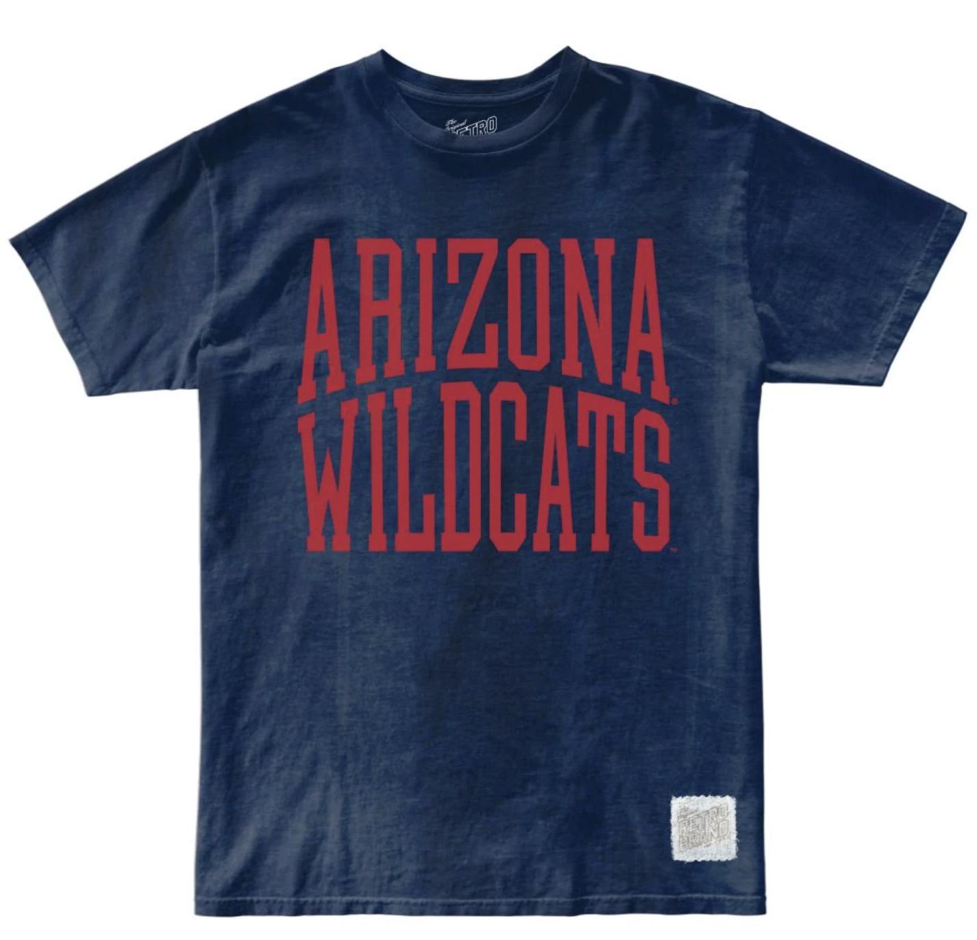 Arizona Wildcats 100% Cotton Oil Washed Unisex Tee