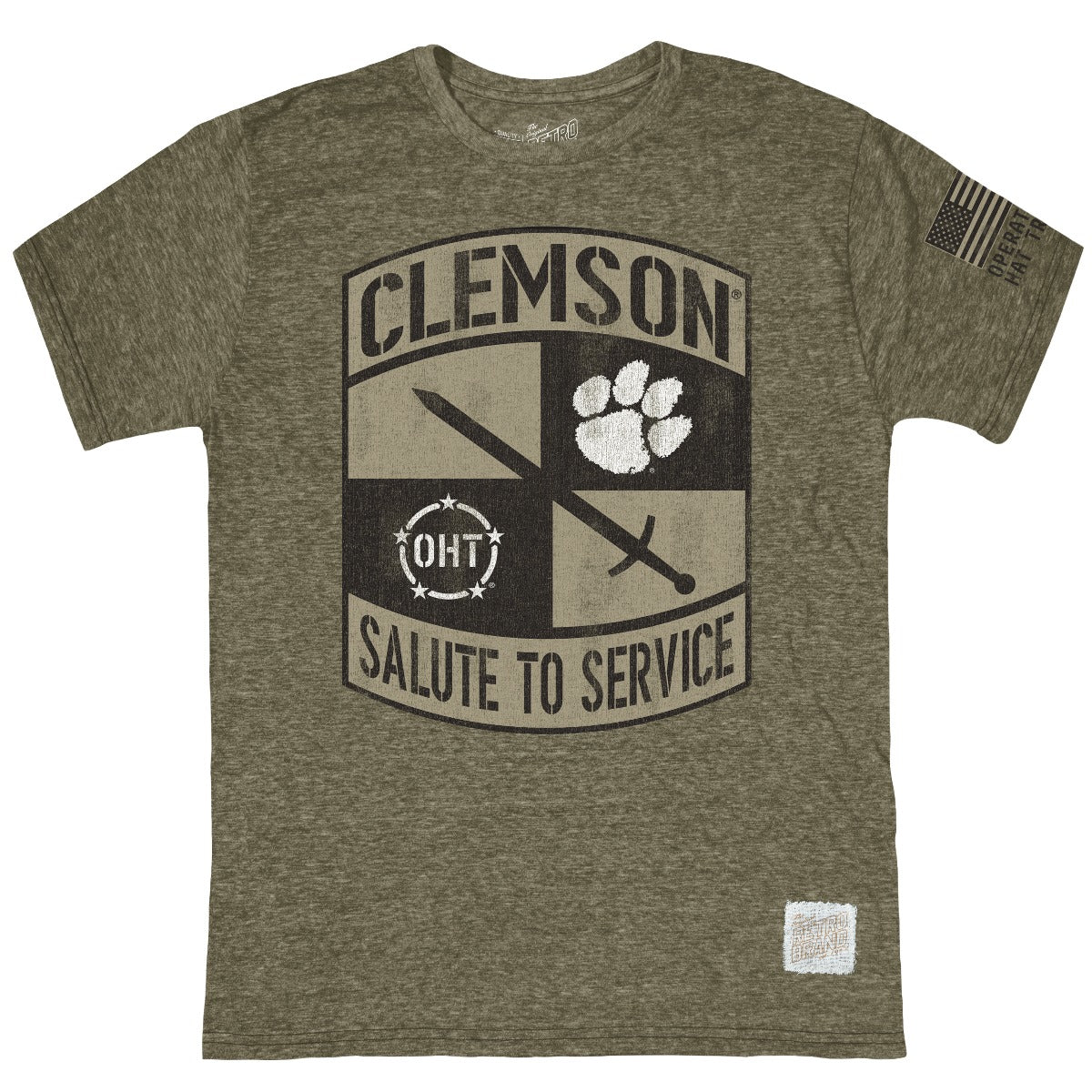 Clemson Operation Hat Trick Tri-Blend Tee