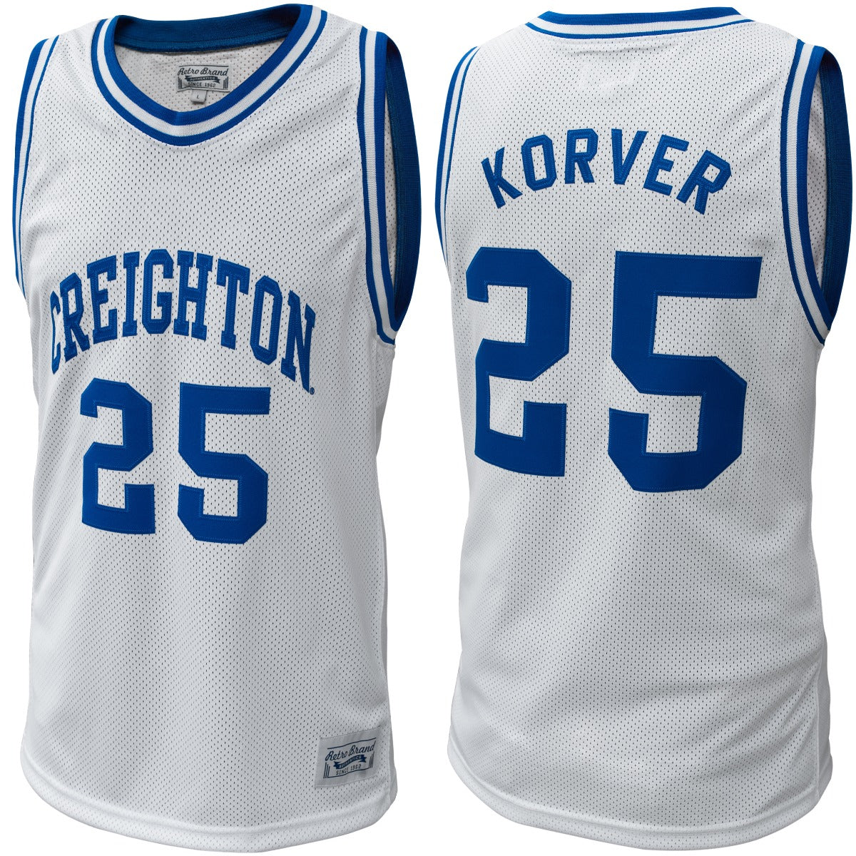 Creighton Bluejays Kyle Corver Throwback Jersey