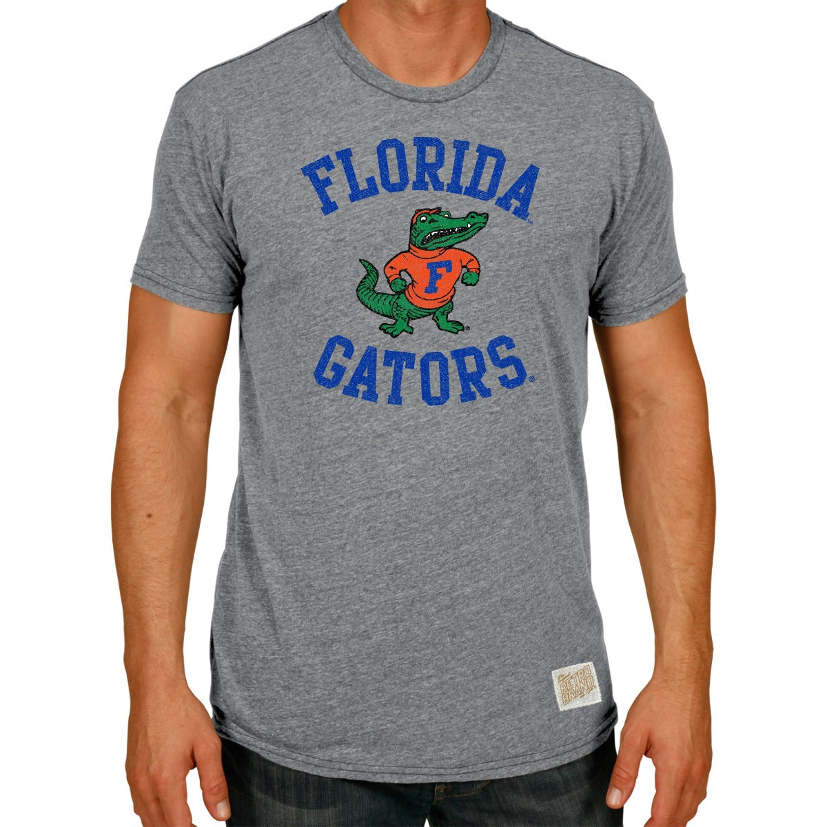 Florida Gators Men's Short Sleeve Triblend Tee