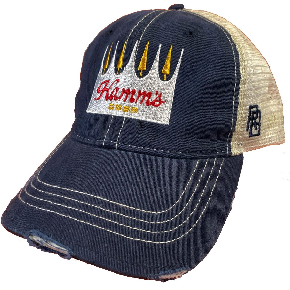 Hamm's Beer Vintage Snap Back Trucker Cap