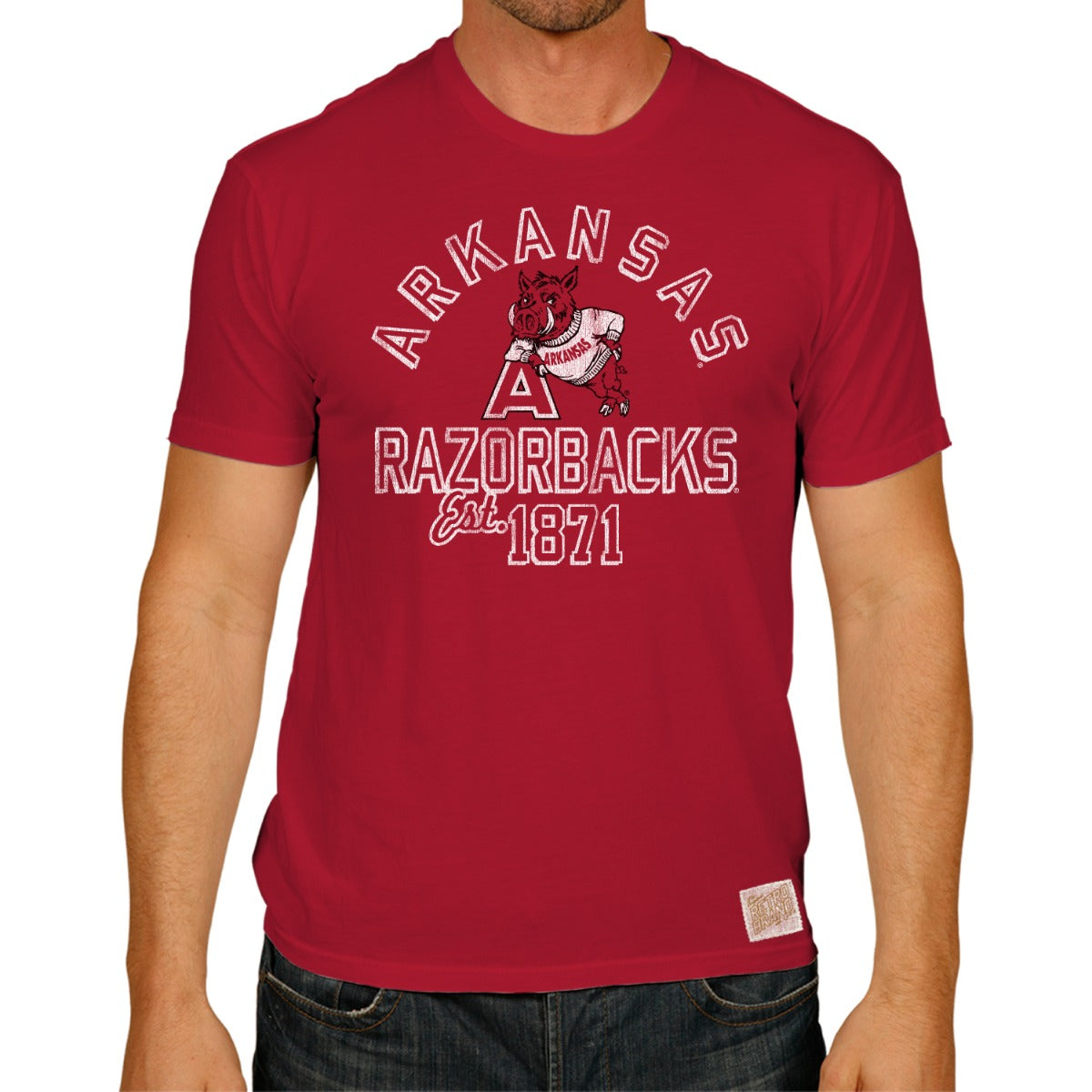 Arkansas Razorbacks 100% Cotton Unisex Tee