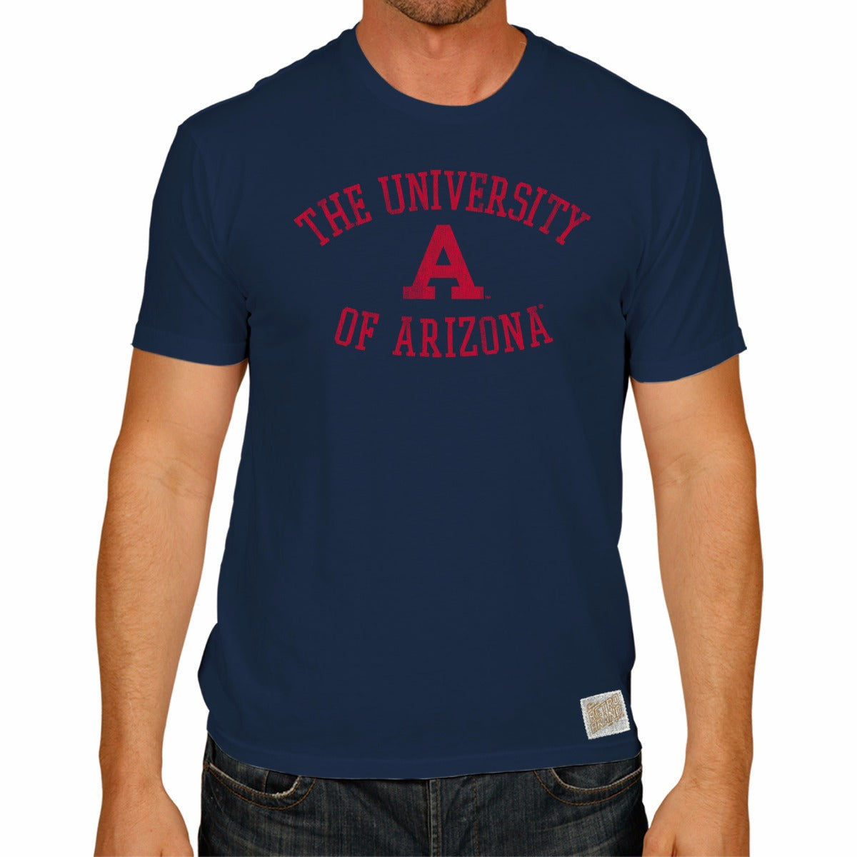 Arizona Wildcats Men's Short Sleeve Vintage Tee