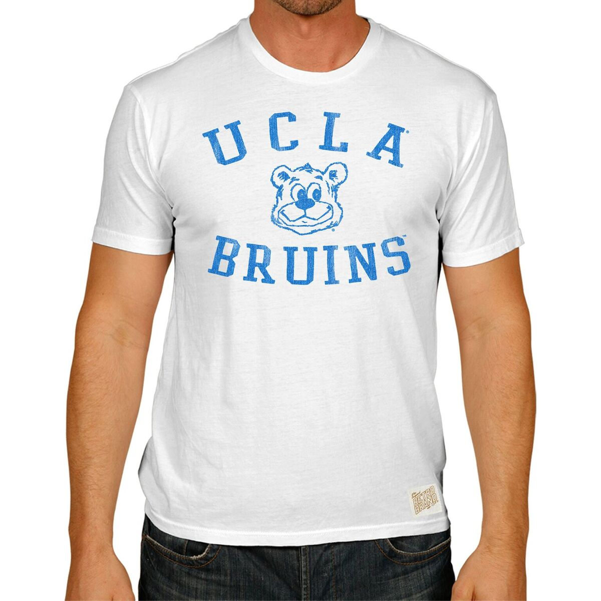 UCLA Bruins Men's Short Sleeve Vintage Tee