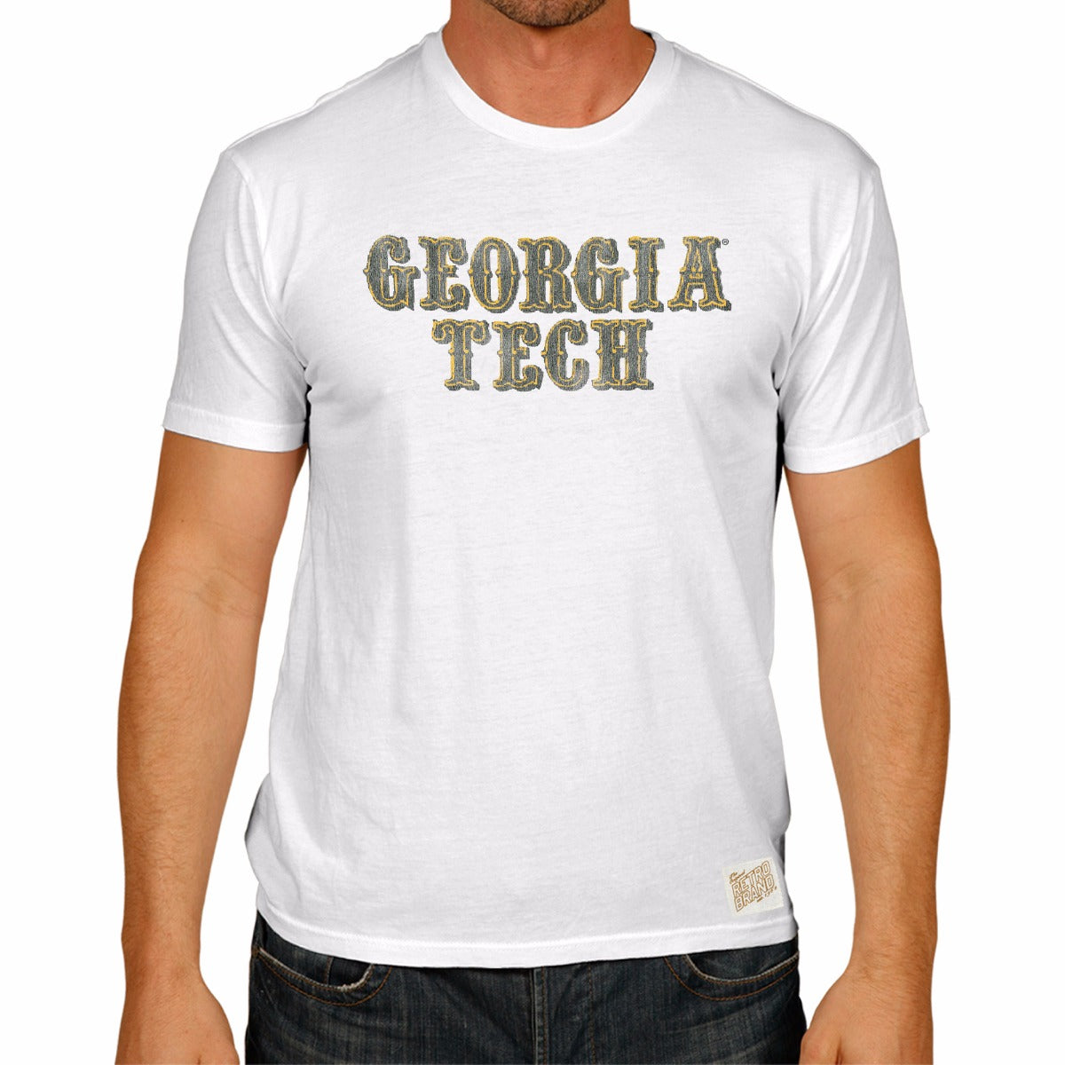 Georgia Tech Yellow Jackets 100% Cotton Unisex Tee