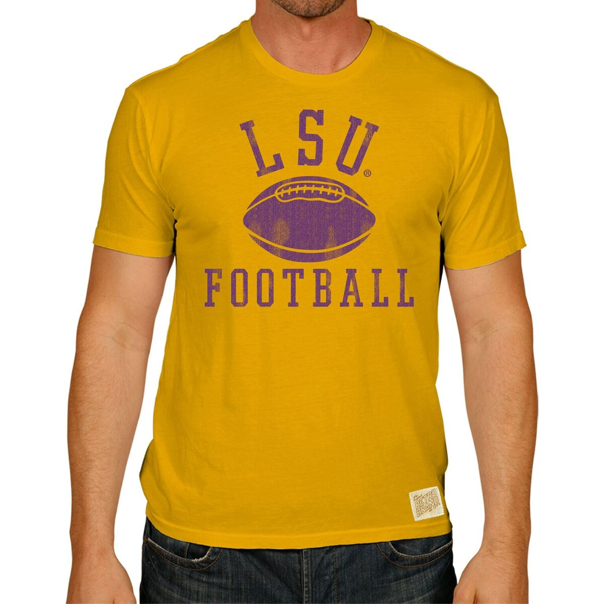 LSU Tigers 100% Cotton Unisex Tee