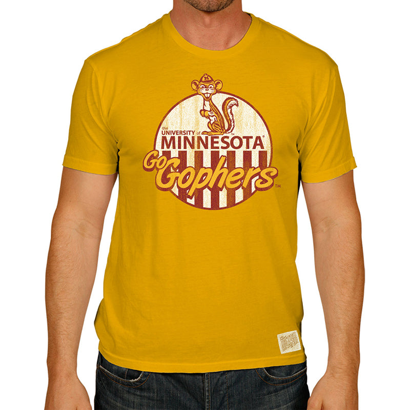 Minnesota Golden Gophers 100% Cotton Unisex Tee