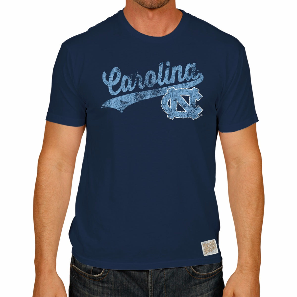 North Carolina Tar Heels Men's Short Sleeve Vintage Tee