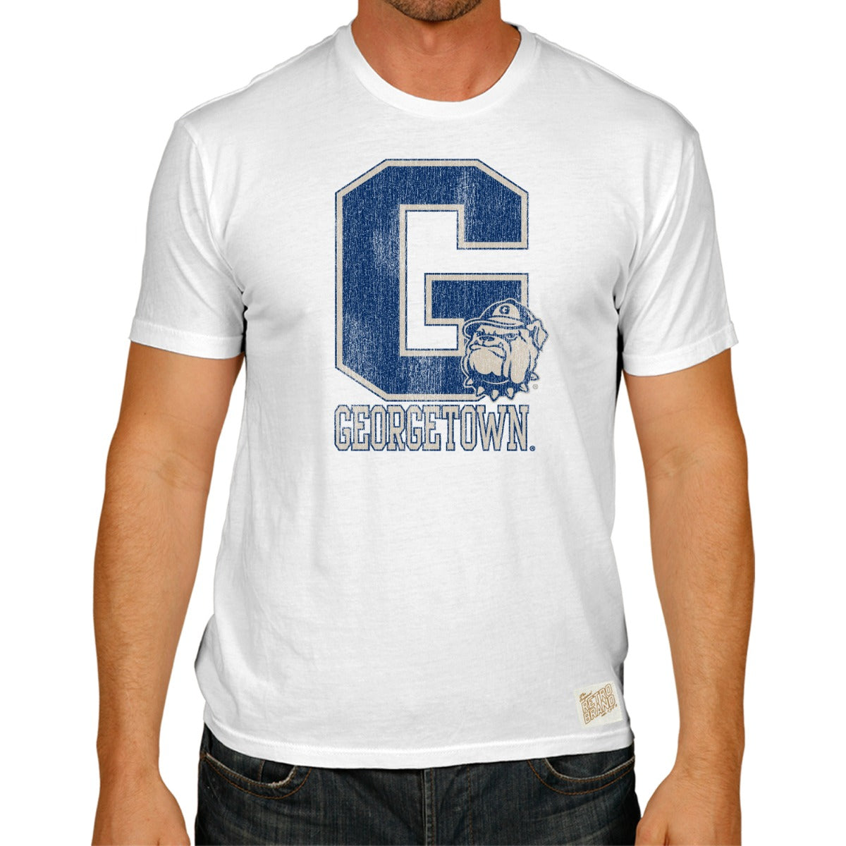 Georgetown Men's Worlds Best Tee