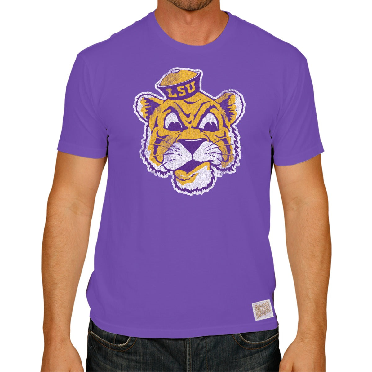 LSU Retro Mike World's Best Tee