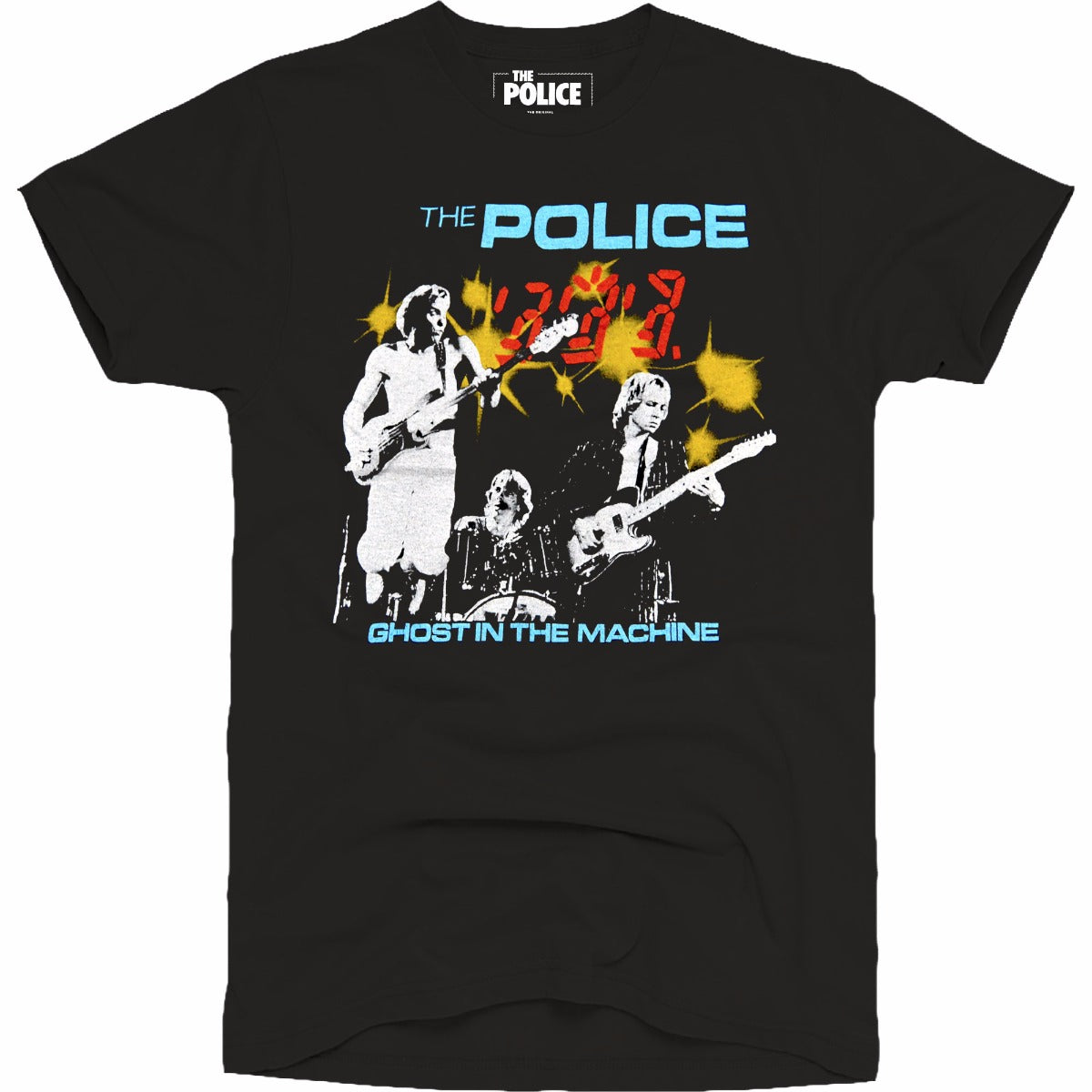 The Police Ghost in the Machine World's Best Tee
