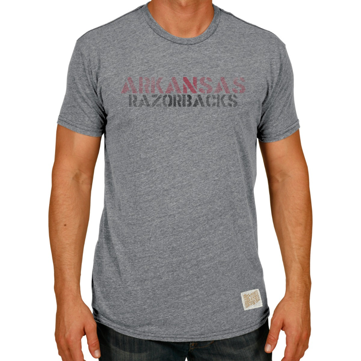 Arkansas Men's Tri-Blend Tee