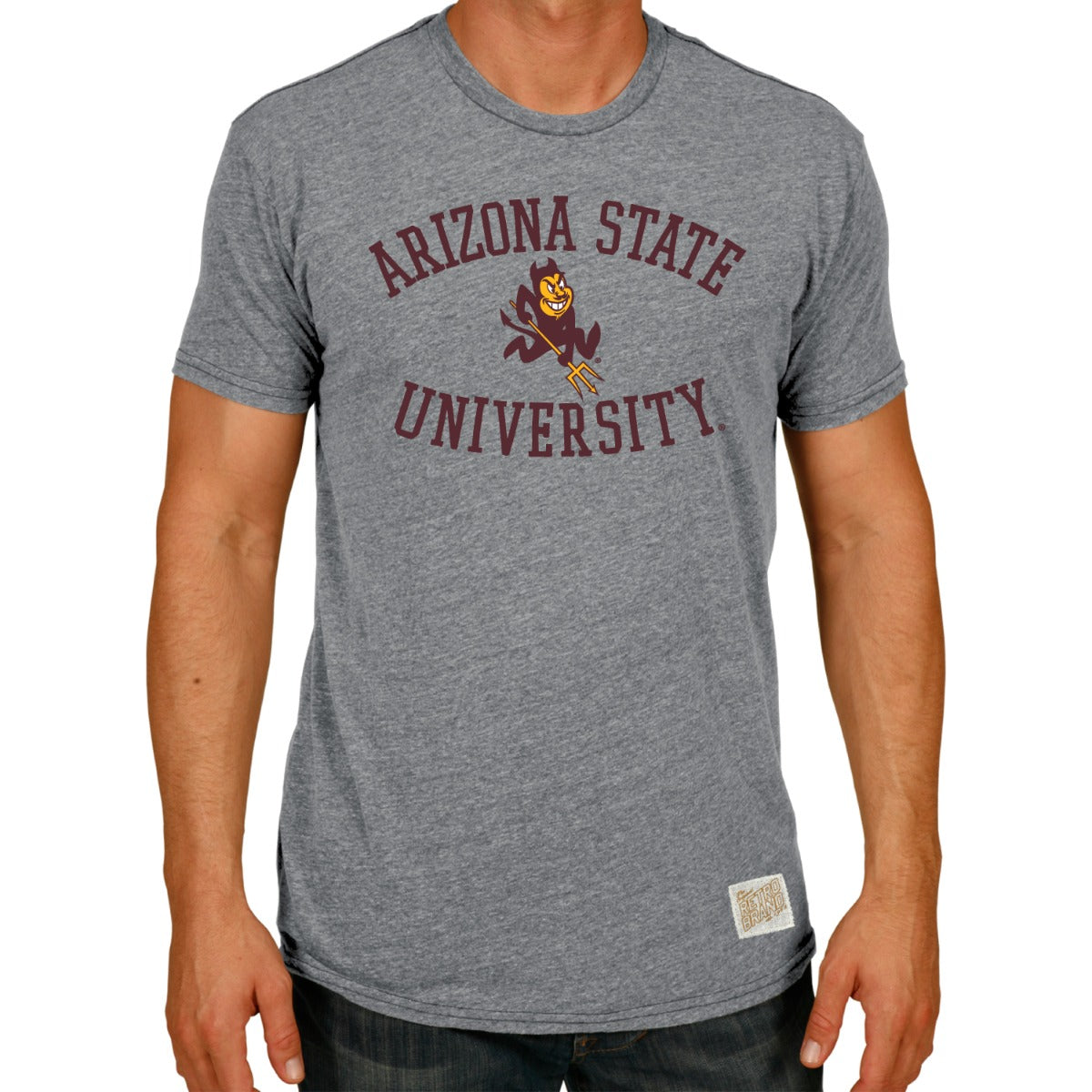 Arizona State Men's Tri-Blend Tee